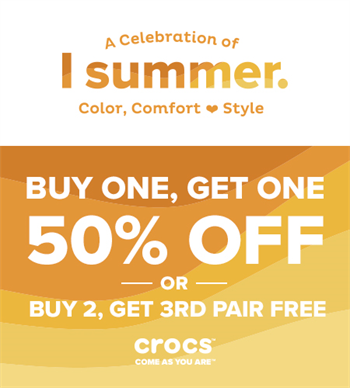 Buy 2 Get The 3rd Pair Free Or Bogo 50 Off Tanger Outlets San